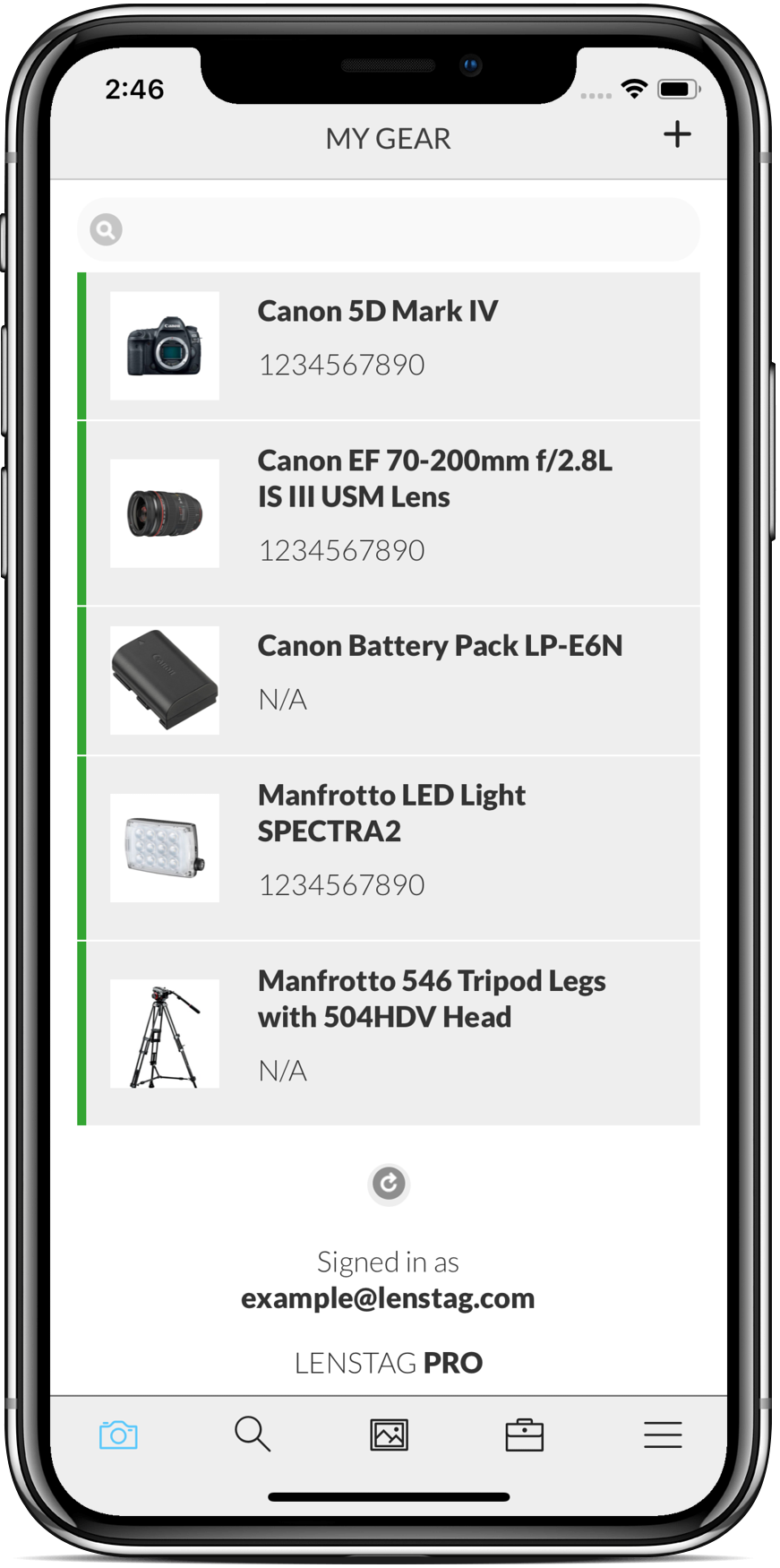 Lenstag - Protect your camera equipment, images and help